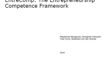 EntreComp: The Entrepreneurship Competence Framework